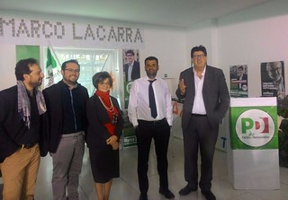 Il plurivotato consigliere regionale Lacarra e il sindaco metropolitano Decaro
