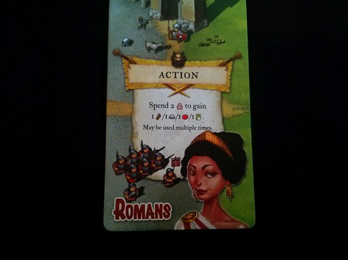 029 - Imperial Settlers action phase; trading meeples 2