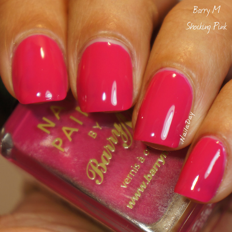 NailaDay: Barry M Shocking Pink
