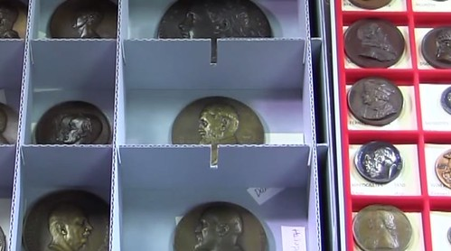 Falk Library medical Medal collection