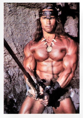 Arnold Schwarzenegger in Conan the Barbarian (1982)