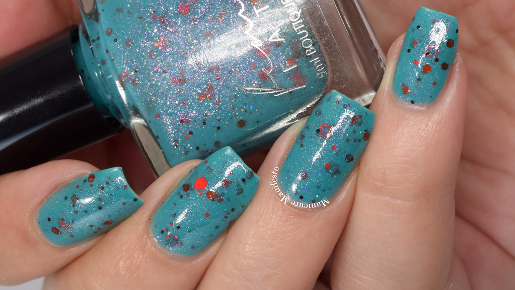 Femme Fatale Cosmetics Interstellar Burst Swatch