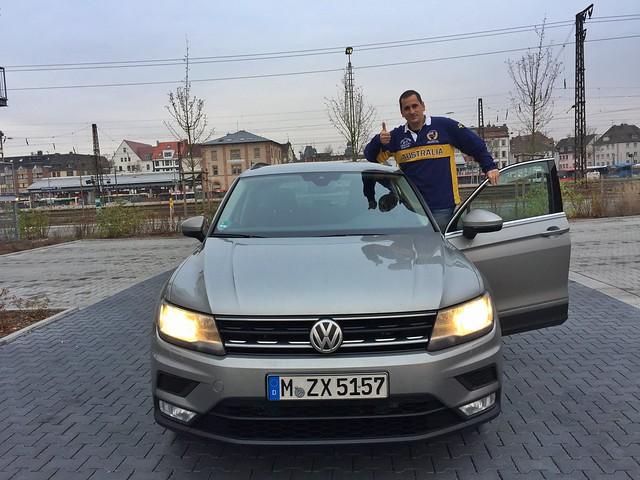 Sele en Alemania con el coche alquilado con Sixt