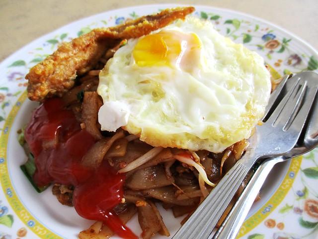 Choon Seng fried kway teow, Muslim stall