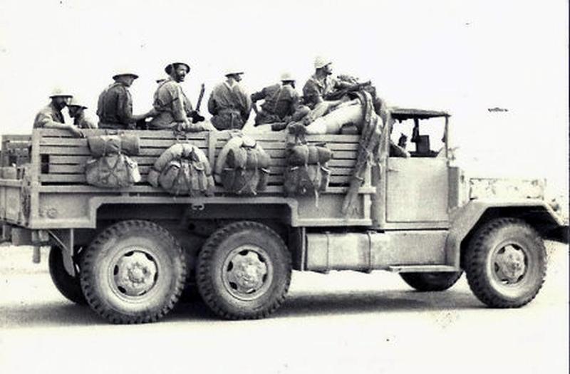 Les FAR durant la Marche Verte 1975 32433457076_d43eb5106d_o