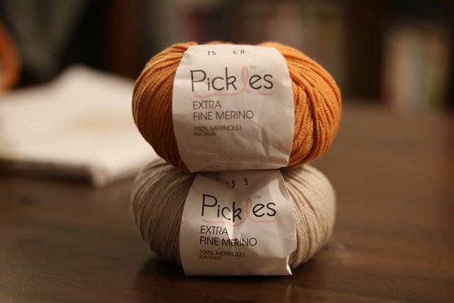 Hjartros yarn
