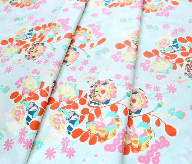 Art Gallery Fabrics Joyful Fusion Orchard Blossom Joyful