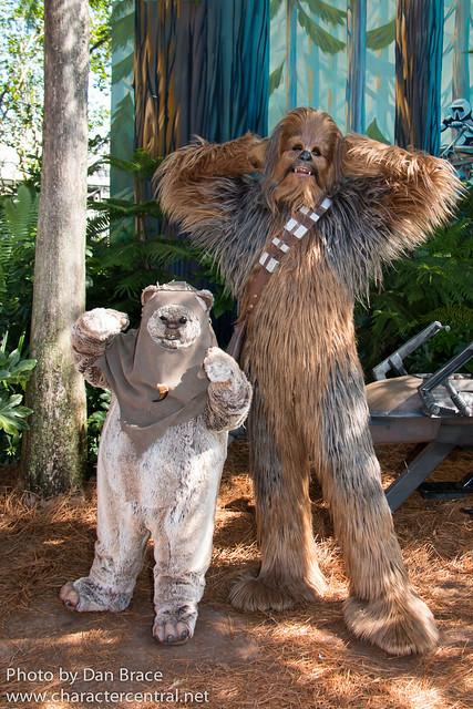 Paploo and Chewbacca