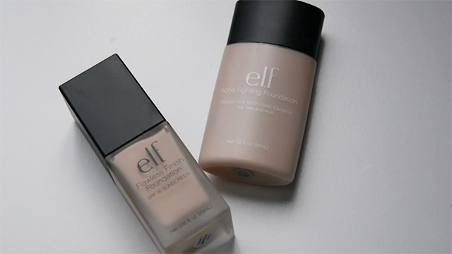 elf Foundation Face Off: Flawless Finish vs Acne Fighting!
