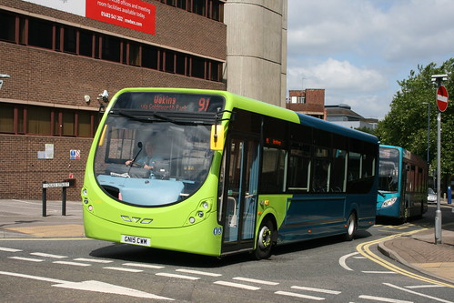 Arriva Southern Counties 4293 on Route 91, Woking Station