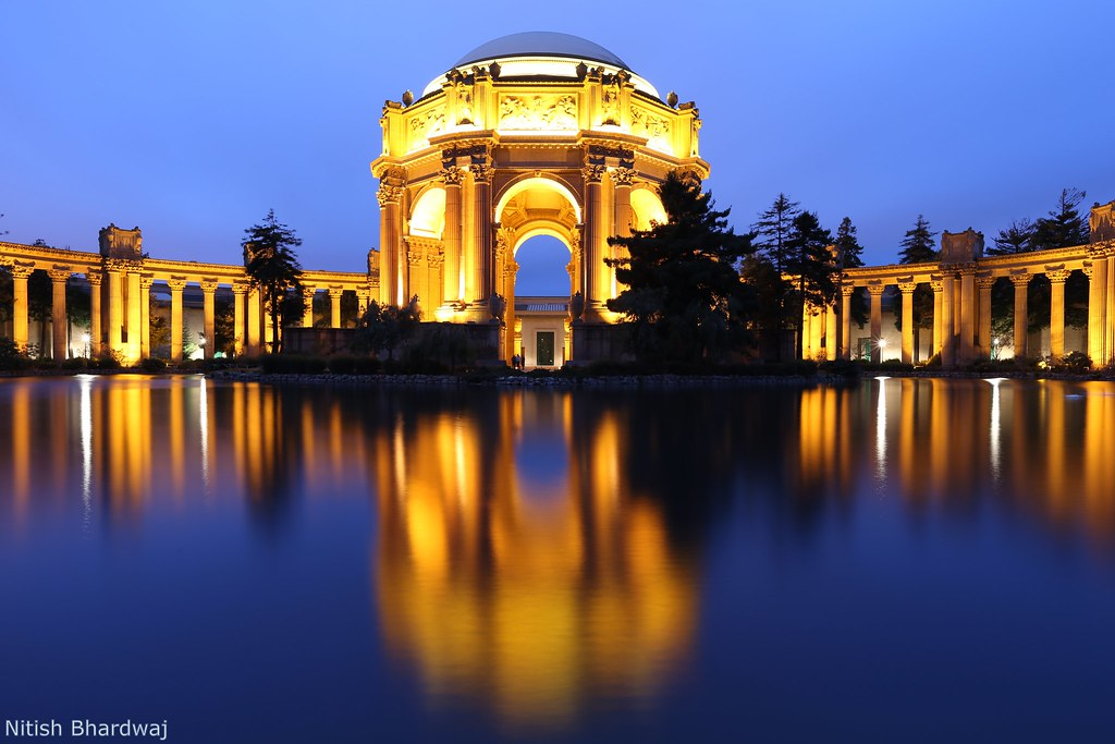 Palace Of Fine Arts San Francisco Blue Hour Palace Of Fin Flickr