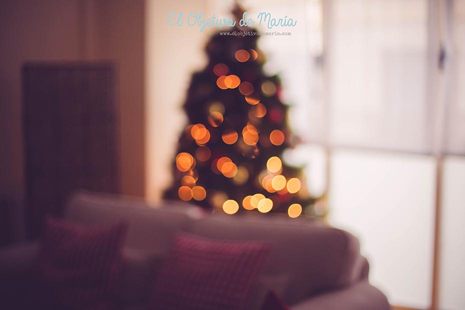 desenfoque navideño
