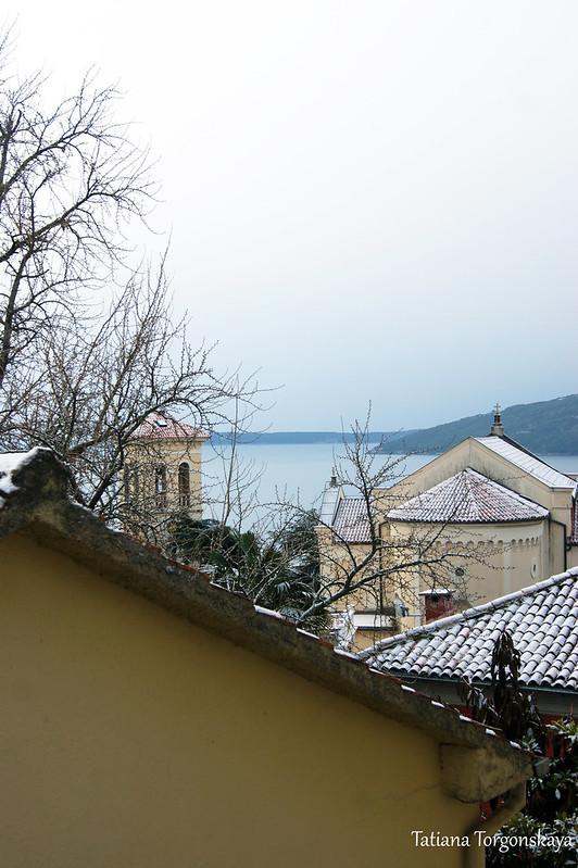 Вид в сторону церкви Св.Иеронима