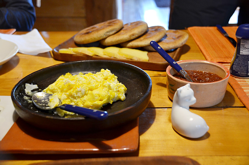 Breakfast, Posada Quelat, Quelat, Chile