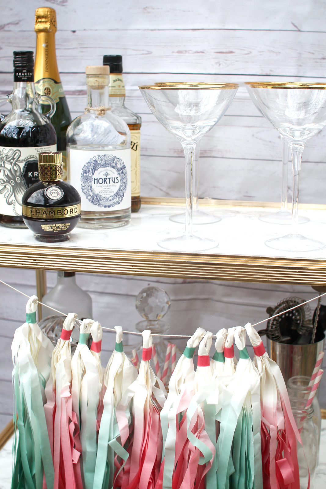 Bar cart styling marble lifestyle blogger UK