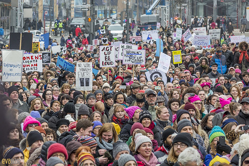 manif des femmes women's march montreal 43 | by Eva Blue