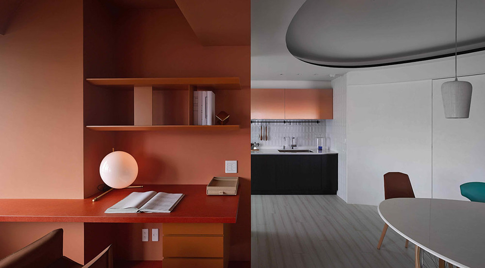 A colorful apartment by Waterfrom Design Sundeno_01