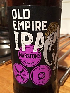 Marston's, Old Empire IPA, England