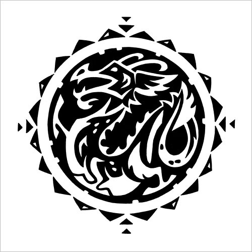 Chinese Zodiac: Dragon / Китайский зодиак: дракон