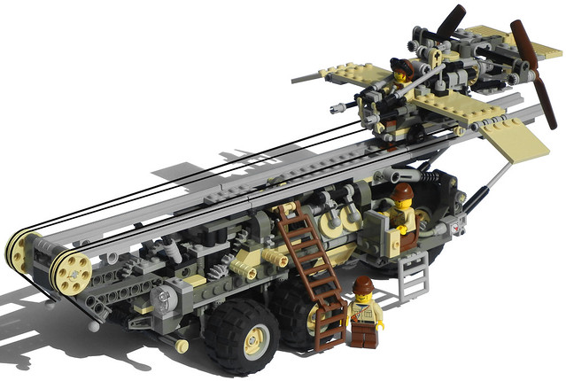 """Onager"" Five-Wheeled Diesel Launcher Truck Mk. XXIX (ready)"
