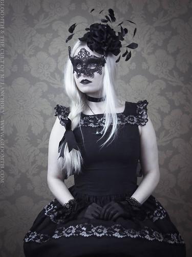 gothic masquerade gloomth azura rose