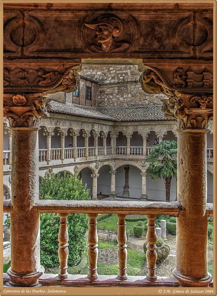 Claustro del Convento de las Dueñas. Salamanca. España ...