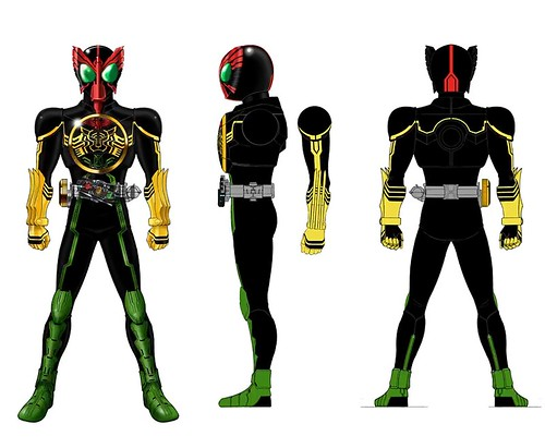 Kamen Rider OOO | OZC Live
