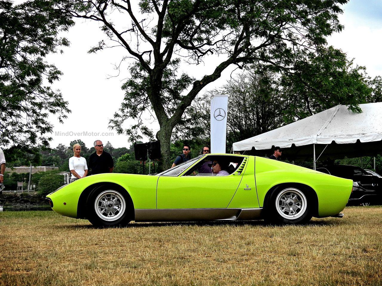 Greenwich 2 Lamborghini Miura Side