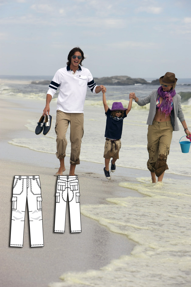129 Men's Pants