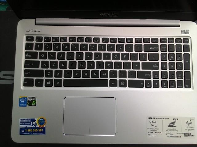 [Khui hộp] Asus K501L - Laptop tầm trung thiết kế đẹp cấu hình cao - 77138