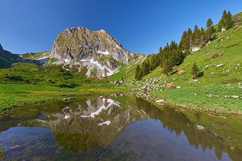 Reflecting Gantrisch - Obernünene