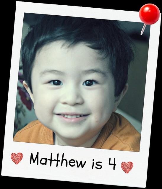 Matthew is 4