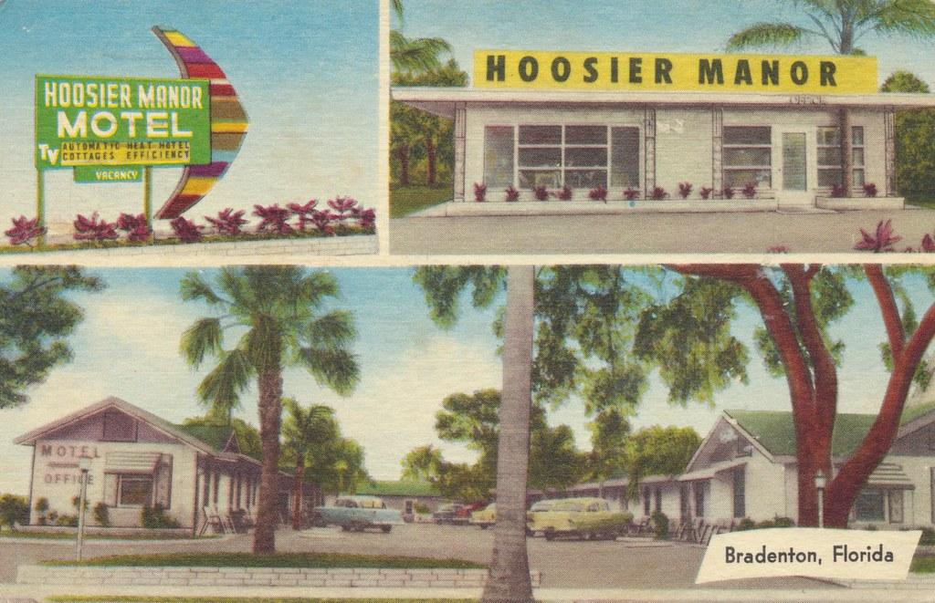 Hoosier Manor Motel - Bradenton, Florida