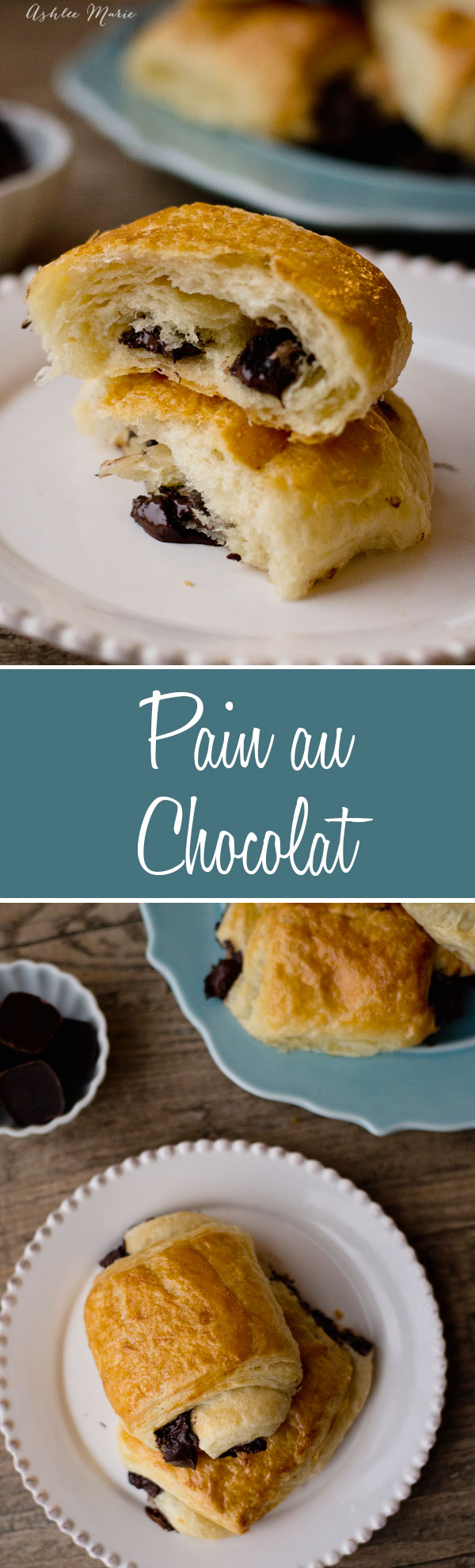 It doesn't get much better than flaky croissants, but pain au chocolat does that for me, dark chocolate filled croissant dough is my favorite thing to make and eat, this recipe includes a full video tutorial