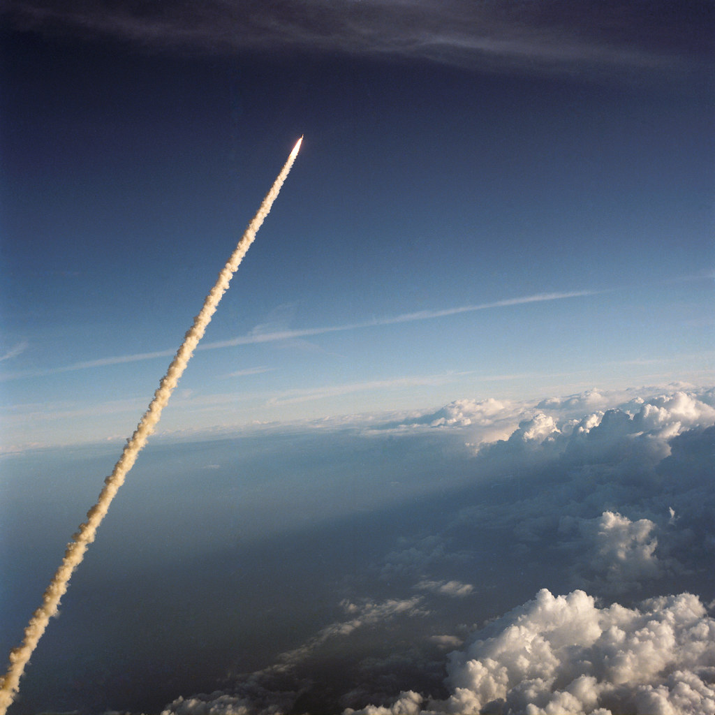 Image result for sts-41-b launch