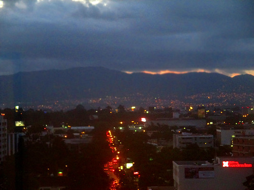Night views from Holiday Inn, Zona Viva 12 | by worldtravelimages.net