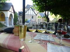 Weinprobe in der Burgschenke in Beilstein