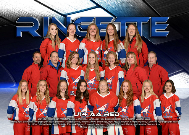 Team Photo - U14AA Red 2016-17