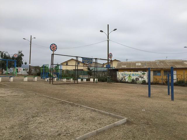 Plaza Entre Ríos |  Los Vilos | Minera Los Pelambres