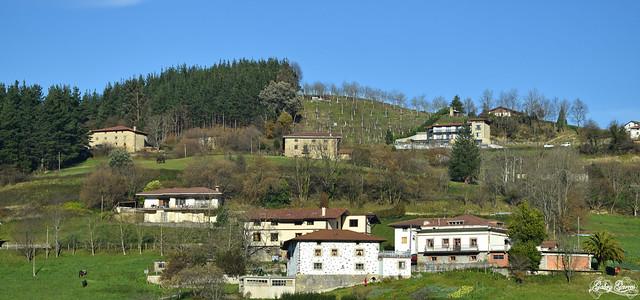 Pueblos de Bilbao, País Vasco.