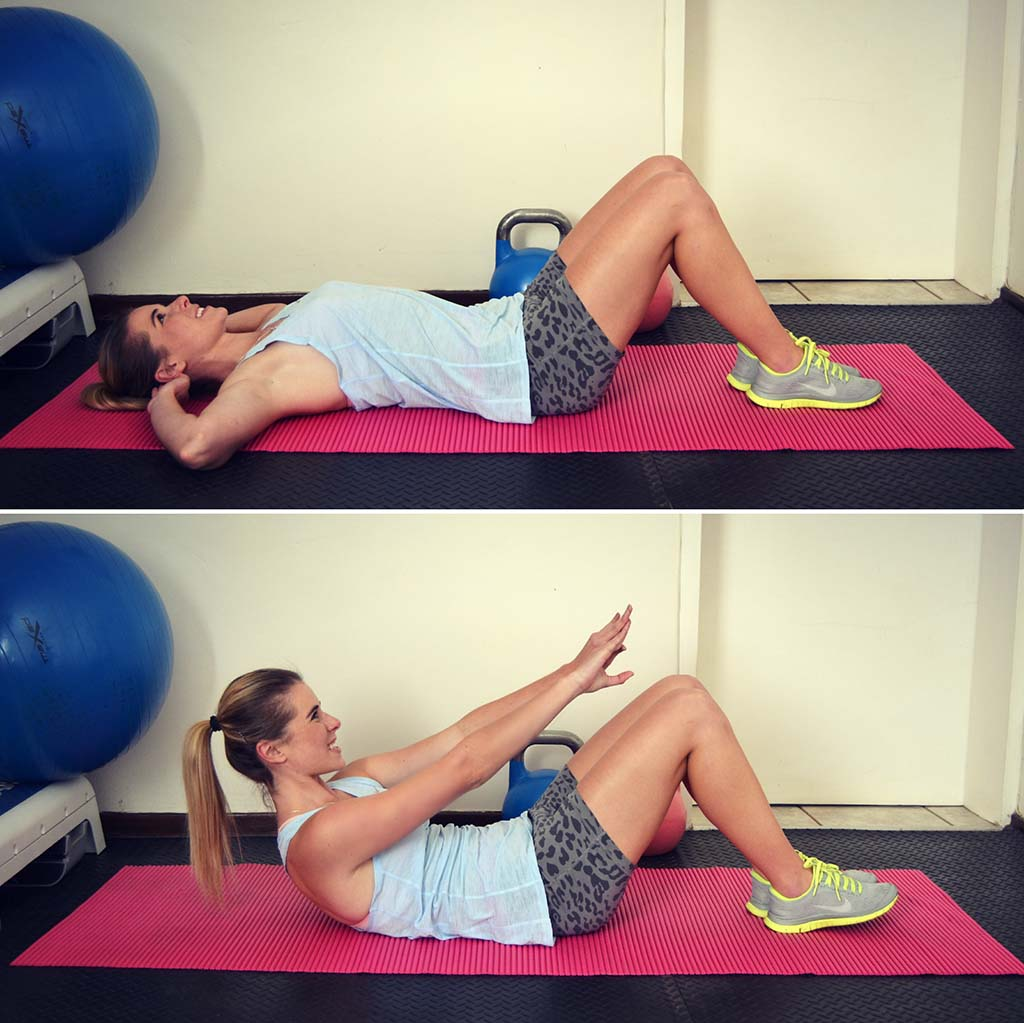 Exercises To Get Flat Stomach & The Sexiest Abs #2: How To Make Abdominal Crunch