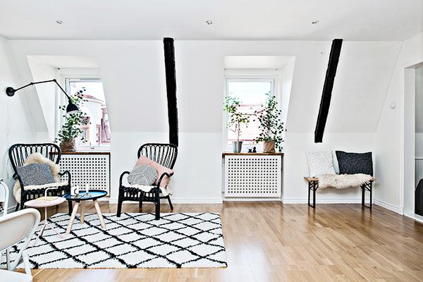 Minimal Attic Apartment Style