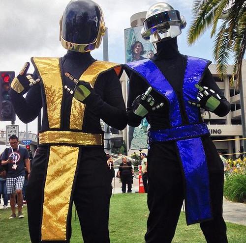 San Diego Comic-Con 2015 Cosplay - Daft Punk Mortal Kombat