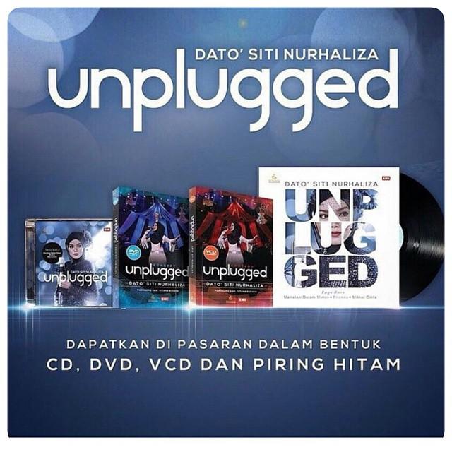 Cd, Vcd, Dvd Dan Piring Hitam Dato' Siti Nurhaliza Unplugged
