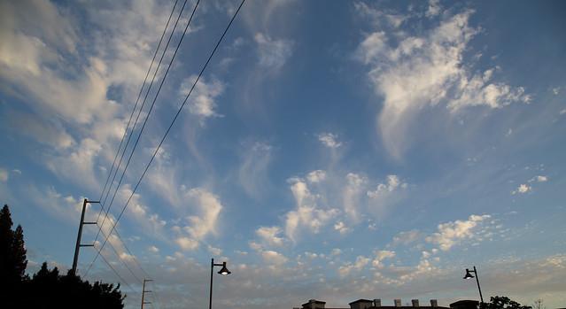 Melting Bay Clouds