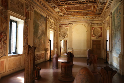 Sala degli specchi palazzo giardino sabbioneta mantov - Sala degli specchi ...