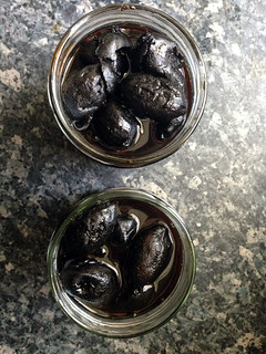 pickled walnut
