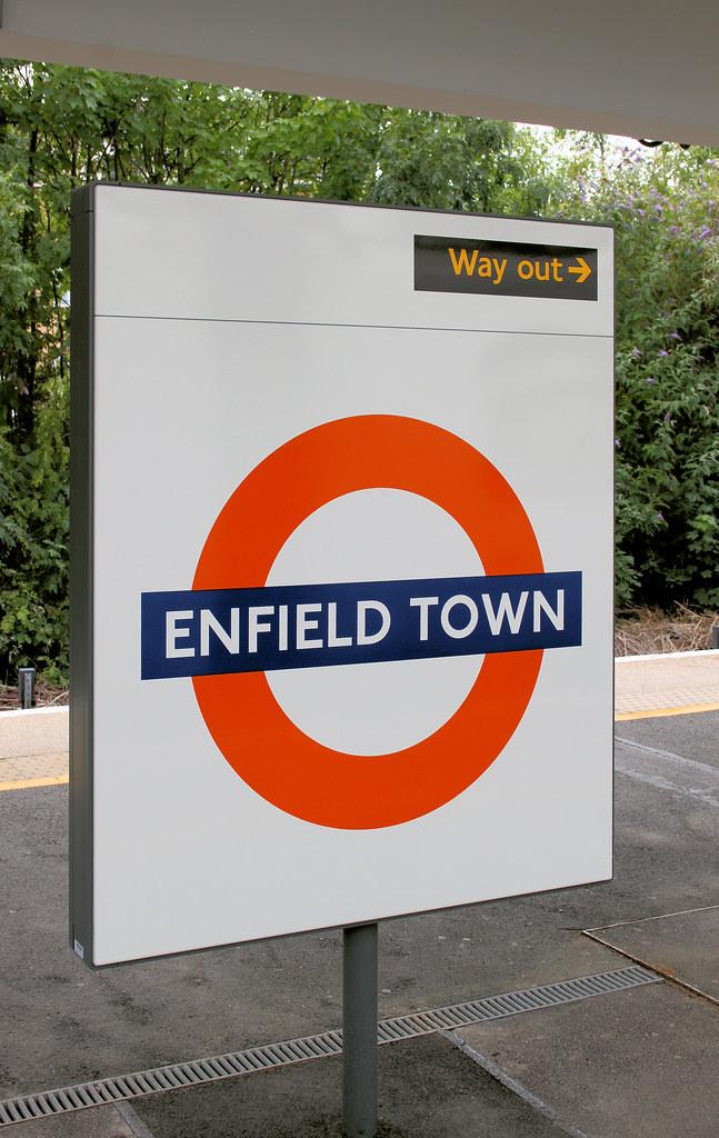 Enfield Town Overground Enfield Town Overground