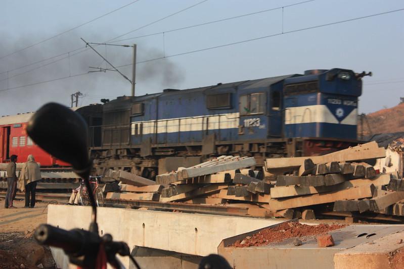Индия, поезда