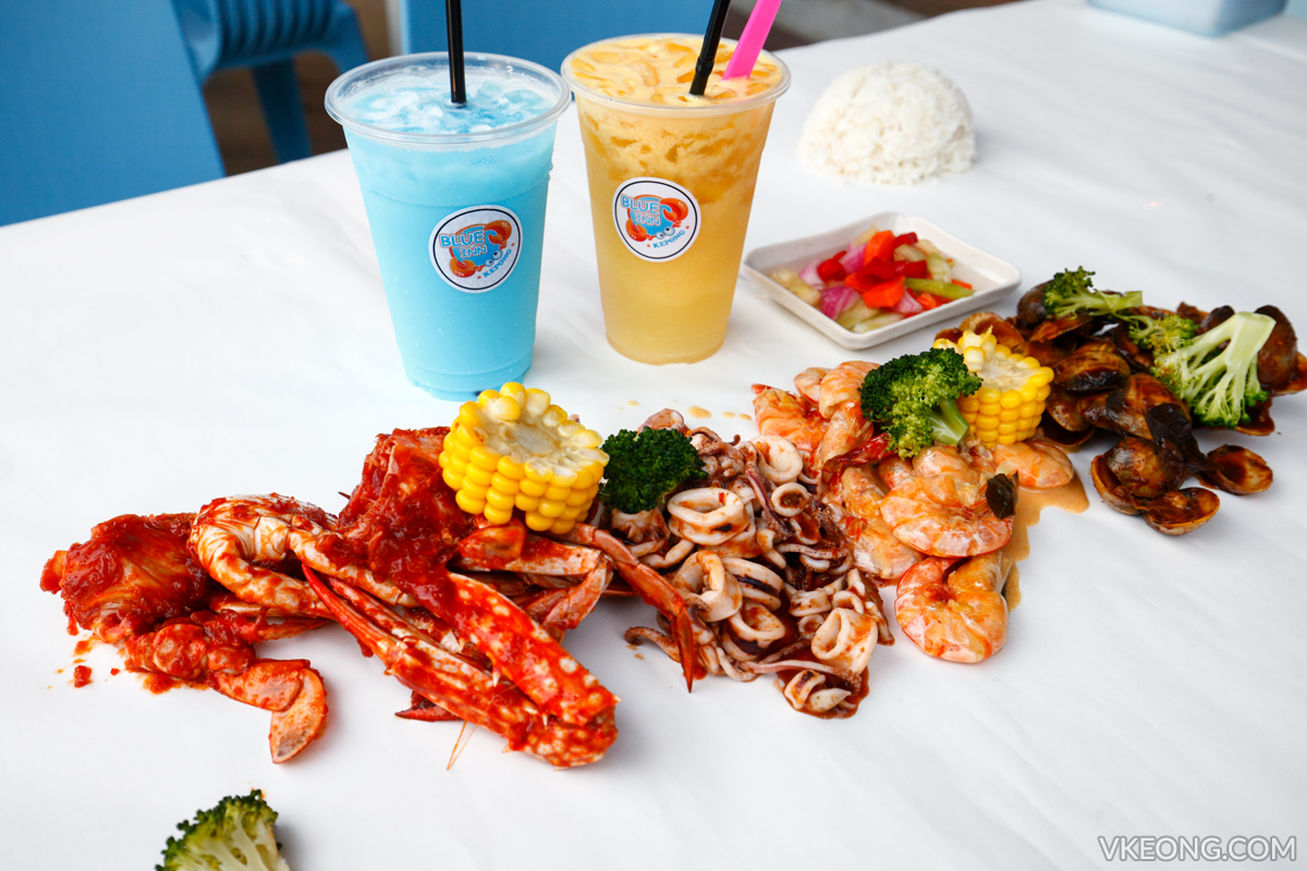 4 in 1 Seafood Blue Inn Kepong